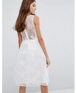 Vero Moda   Кружевное Короткое Приталенное Платье