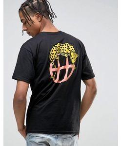 Huf | Футболка С Логотипом На Спине