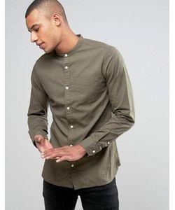 Jack & Jones | Узкая Оксфордская Рубашка С Воротом На Пуговице Premium