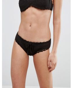 Bikini Lab   Бикини Трусики-Хипстеры Из Кружева Кроше Ручной Работы