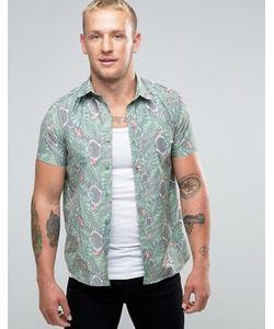 Mambo   Рубашка С Короткими Рукавами Tiki