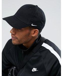 detailed look 91473 16f3d Nike SB - Черная Кепка Nike Heritage 86 102699-010