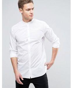 Jack & Jones | Фактурная Рубашка Узкого Кроя Premium