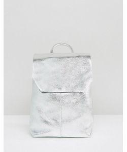 Asos | Кожаный Рюкзак Мини С Затягивающимся Шнурком
