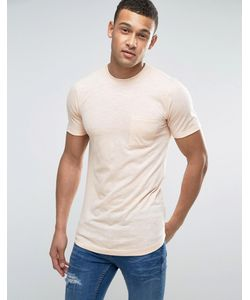 Another Influence | Long Line Fine Stripe T-Shirt