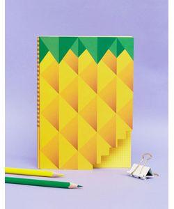 Books | Блокнот С Принтом Ананас
