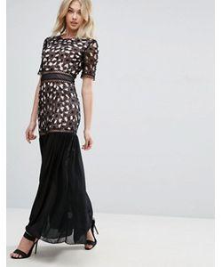 Glamorous | Платье Макси С Вышивкой