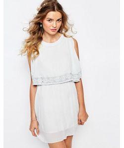 Darccy | Платье Мини С Кружевной Отделкой