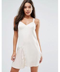 MISSGUIDED | Платье С Плиссированной Вставкой