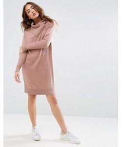 Asos | Платье-Джемпер С Запахом На Лифе Lounge