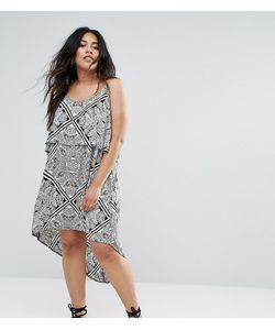 Diya | Платье С Накладкой