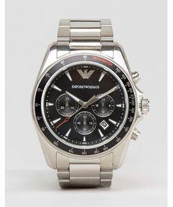 Emporio Armani | Серебристые Часы С Хронографом Ar6098