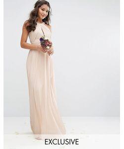TFNC | Плиссированное Платье Макси Wedding