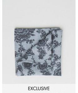 Noose & Monkey | Flocked Pocket Square