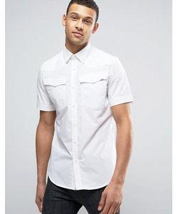 G-Star | Рубашка Узкого Кроя С Короткими Рукавами 3301