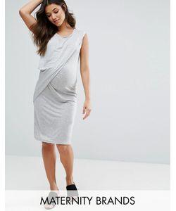 Mama Licious | Платье С Драпировкой Maternity