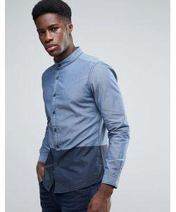 Esprit | Рубашка В Стиле Колор Блок С Воротником На Пуговицах