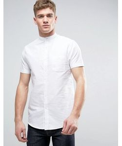 Brave Soul | Оксфордская Рубашка С Короткими Рукавами И Воротником На Пуговице