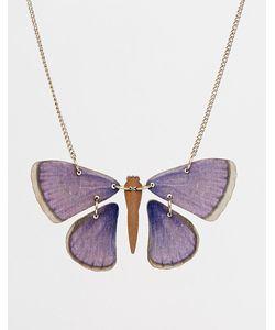 Tatty Devine | Ожерелье С Бабочкой