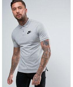 Nike | Серое Поло Matchup 829360-063