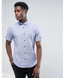 Esprit | Хлопковая Рубашка С Коротким Рукавом