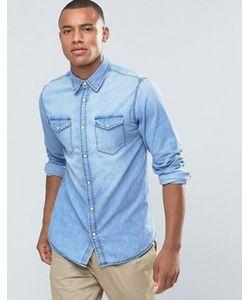 Jack & Jones | Джинсовая Рубашка На Кнопках С Двумя Карманами Originals