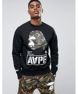 AAPE | Свитшот С Большим Логотипом By A Bathing Ape