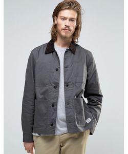 Element   Серая Вощеная Куртка Union Chore