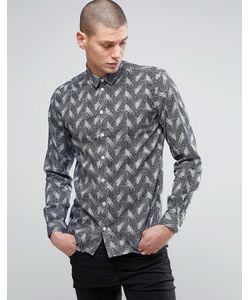 Minimum   Рубашка С Принтом В Елочку