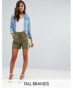 Vero Moda Tall | Шорты-Карго С D-Образным Кольцом