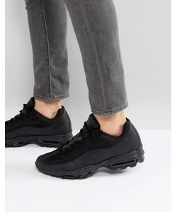 Nike | Черные Кроссовки Air Max 95 Ultra Essential 857910-012