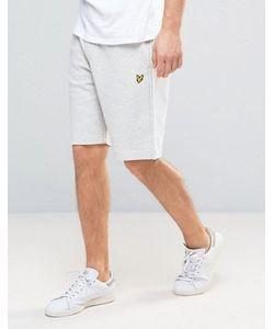 Lyle&Scott | Lyle Scott Sweat Shorts Regular Fit Eagle Logo In