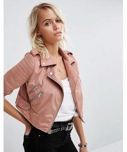 Asos | Байкерская Куртка Из Искусственной Замши