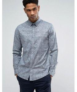Selected Homme | Узкая Меланжевая Рубашка