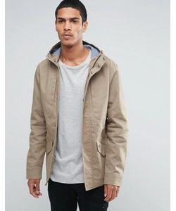Threadbare | Хлопковая Куртка С Капюшоном