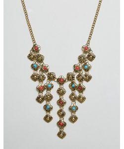 Ruby Rocks | Ожерелье С Броской Подвеской