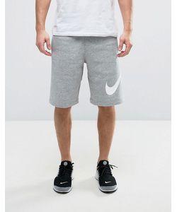 Nike | Трикотажные Шорты С Крупным Логотипом 843520-063