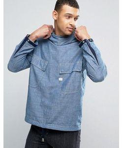 G-Star | Куртка Из Шамбре С Капюшоном