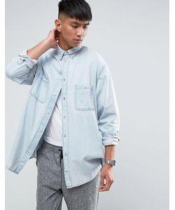 Cheap Monday | Бледно-Синяя Джинсовая Рубашка