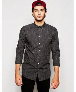 Minimum | Рубашка Слим С Принтом