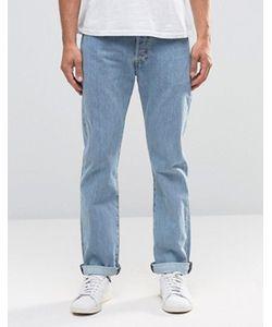 Levi's® | Прямые Светлые Джинсы С Эффектом Поношенности Levis Jeans 501
