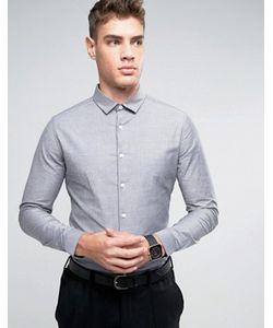Asos | Оксфордская Рубашка Скинни
