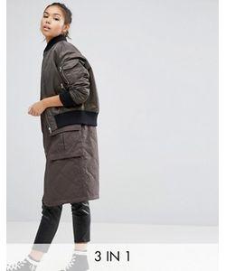 Asos | Пальто 3 В 1 В Стиле Курткипилот