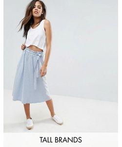 Vero Moda Tall | Юбка В Полоску