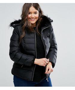 Koko | Дутая Куртка С Воротником Из Искусственного Меха Plus