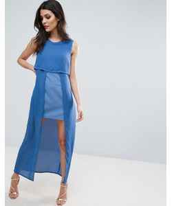 Jovonna | Icing On The Cake Two Layer Maxi Dress