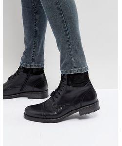 Aldo   Черные Ботинки На Шнуровке Senehauz