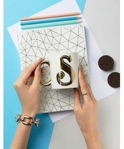 Sass & Belle   Letter S Mug