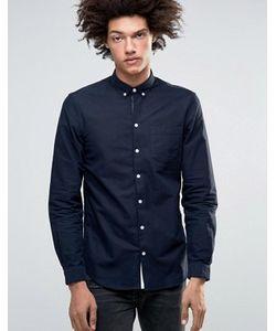 Minimum | Классическая Оксфордская Рубашка Узкого Кроя На Пуговицах Jay