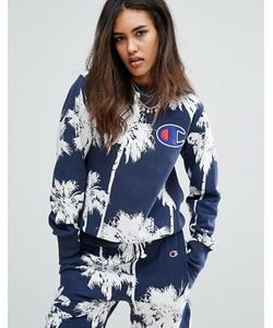 Champion | Oversized Sweatshirt In Hawaiian Palm Print